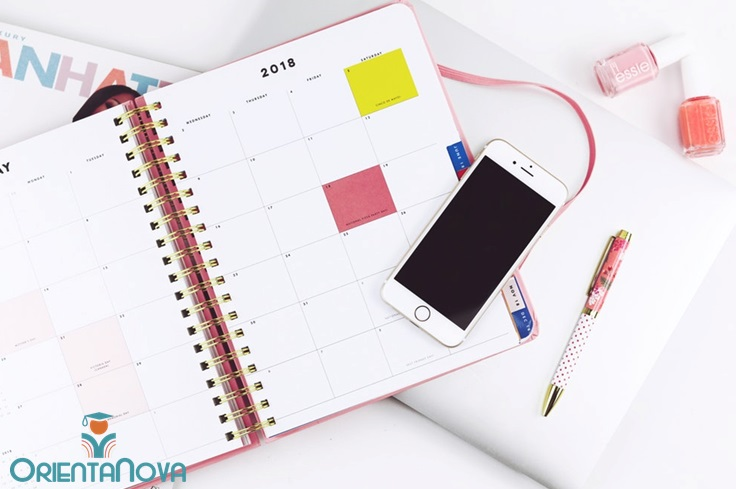 Calendarios planificación de estudio