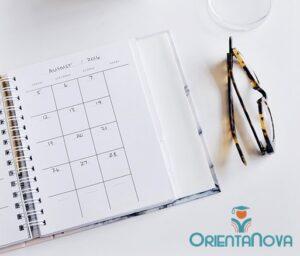 Planning mensual para estudiar