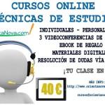 Curso. Técnicas de estudio online.