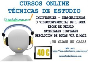 Curso online técnicas de estudio