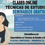 Seminarios web gratis de técnicas de estudio.