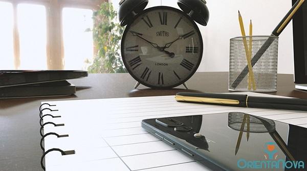 Horario de estudio en casa