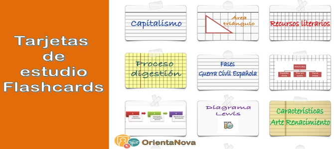 Tarjetas de estudio FLASHCARDS