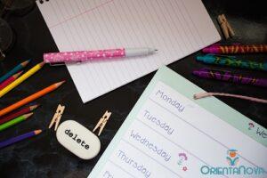 Planificar el tiempo de estudio