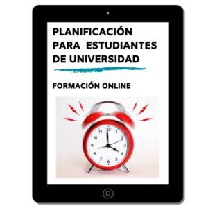 Curso Planificación para Universitarios. Máxima productividad