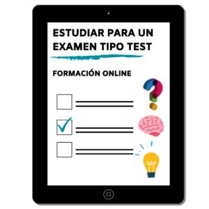 Taller de exámenes tipo test