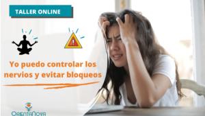 Taller: Control del estrés y bloqueos en exámenes