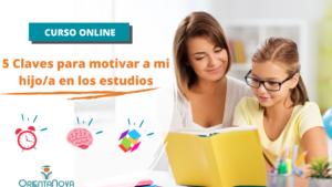 Curso: 5 claves para motiva y crear hábitos de estudio en casa
