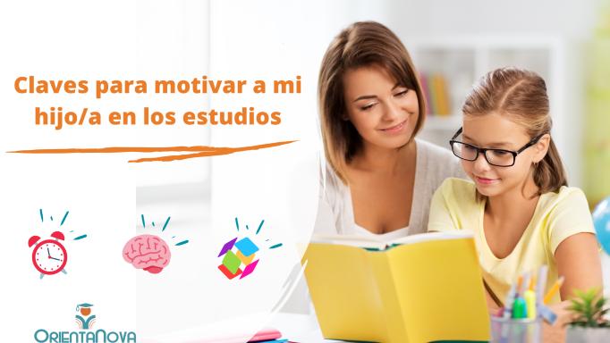 Lee más sobre el artículo Cómo motivar a mi hijo en los estudios. 5 Claves
